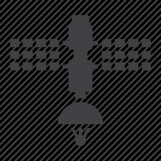 communication, satellite, space, tracking, transport, transportation, vehicle icon