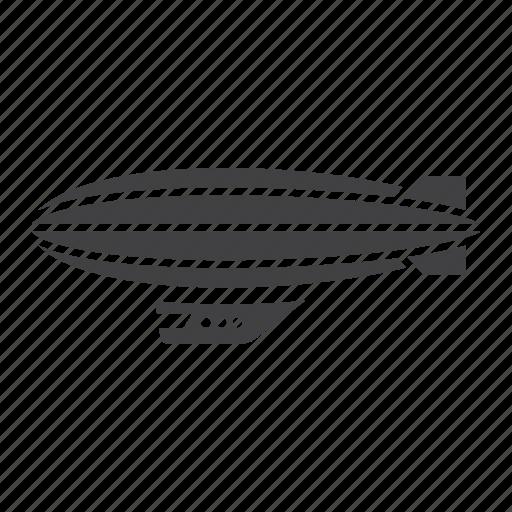 air, airship, balloon, sky, transport, transportation, vehicle icon