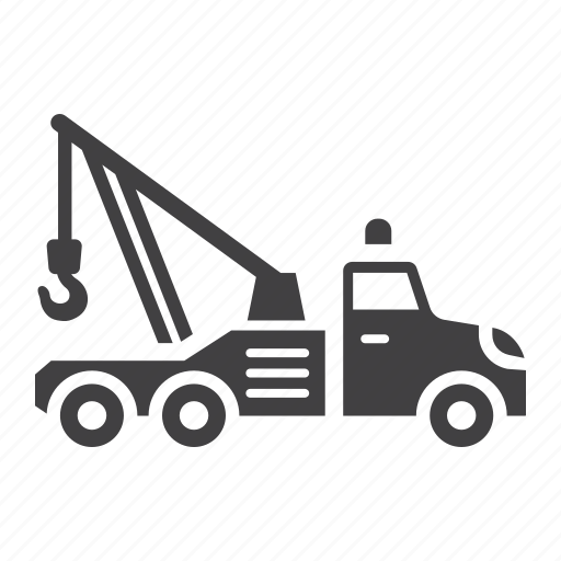 repair, service, tow, transport, transportation, truck, vehicle icon