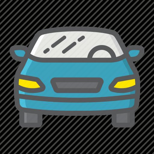 automobile, car, sedan, sign, transport, transportation, vehicle icon