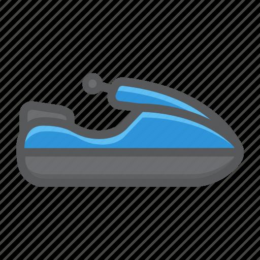 jet, scooter, ski, transport, transportation, vehicle, water icon