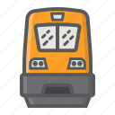 locomotive, modern, railway, train, transport, transportation, vehicle icon