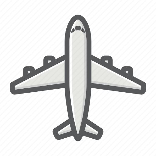 air, aircraft, airplane, plane, transport, transportation, vehicle icon