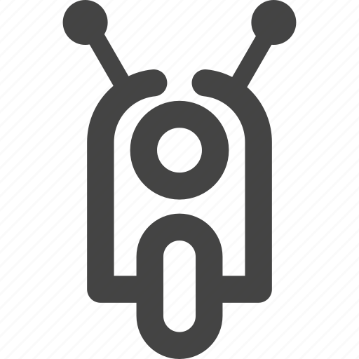 Motorscycle, scooter, transportation, vehicle, vespa icon - Download on Iconfinder