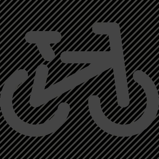 bicycle, bike, road, transportation, vehicles icon