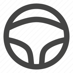automobile, car, drive, driver, road, steering wheel, transportation icon