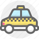 auto, car, taxi, transport, transportation icon