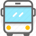 bus, bus station, transport, transportation, travel icon