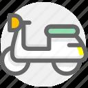 moto, transport, transportation icon