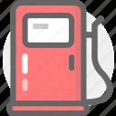 gas, oil, transport, transportation icon