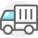 delivery, ship, shipping, transport, transportation, truck icon