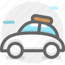auto, car, tourism, transportation, travel, vacation icon