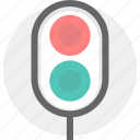 road, traffic light, transport, transportation icon