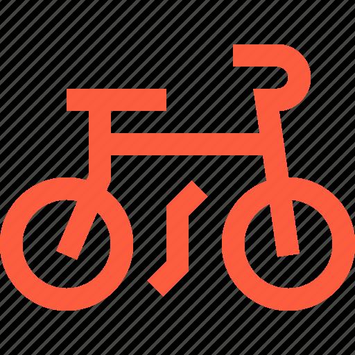 bicycle, bike, push, sport, transport, transportation icon