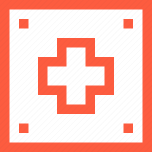 aid, cross, first, kit, medical, medicine, red, treatment icon