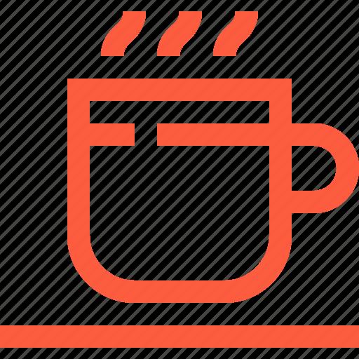 coffee, cup, drink, hot, tea, warm icon