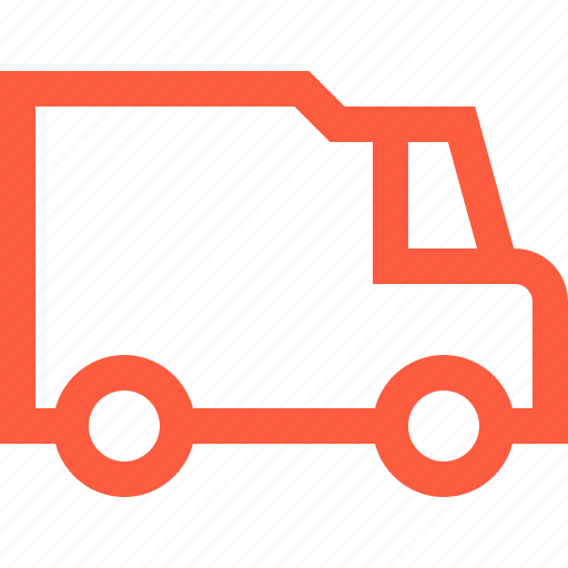 freight, minivan, ride, transport, trip, truck, vehicle icon