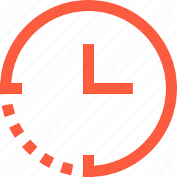 clock, hour, minute, part, period, phase, time icon