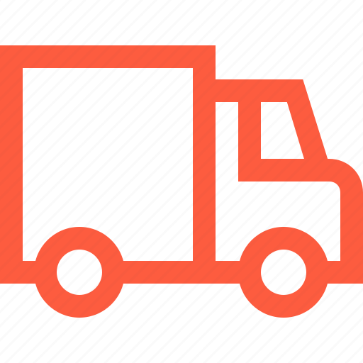 car, logistics, moving, transport, truck, trucking, van, vehicle icon