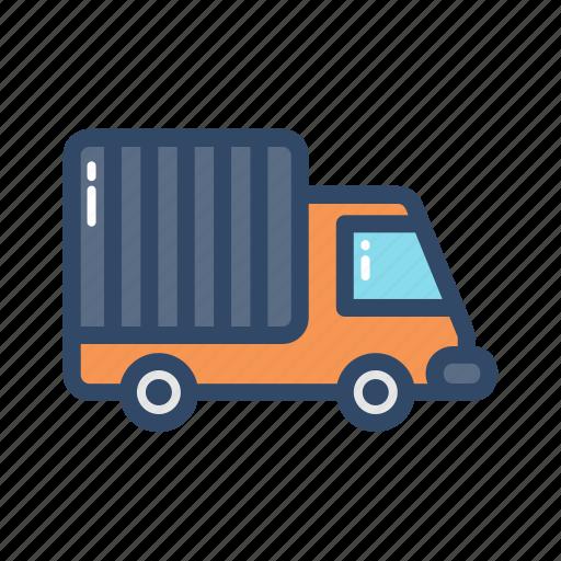 transportation, travel, truck, vehicle icon