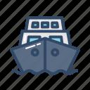 ship, transportation, travel, vehicle icon