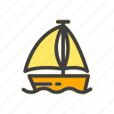 boat, car, cruise, drive, ship, transport, transportation icon