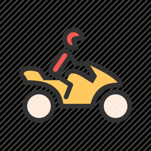 bike, biker, motor, motorcycle, motorcyclist, rider, vehicle icon