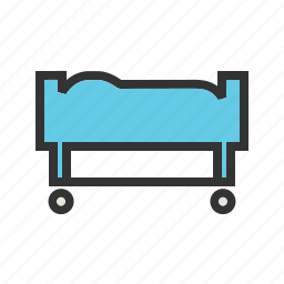 carrier, emergency, equipment, medical, rescue, stretcher, transport icon