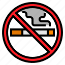 no, smoking, transportation icon