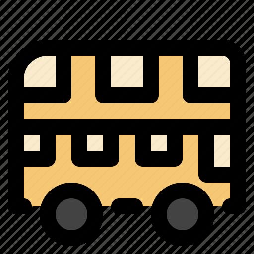 bus, cargo, logistic, transportation icon
