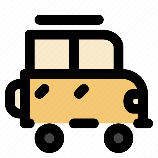 cargo, jeep, logistic, transportation icon