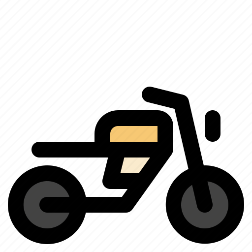 cargo, logistic, motorbike, transportation icon
