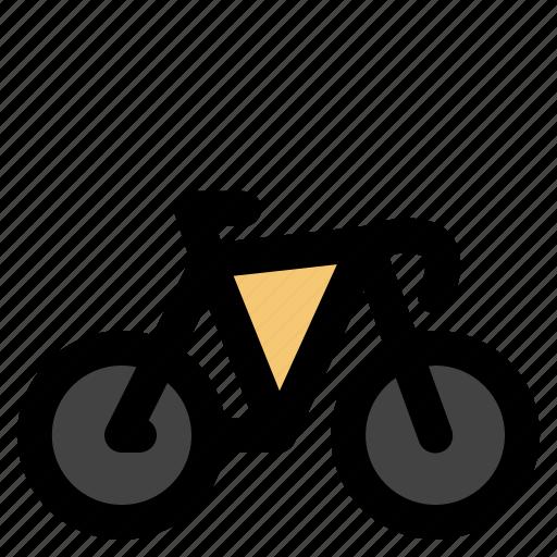 cargo, logistic, roadbike, transportation icon