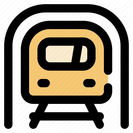 cargo, logistic, subway, transportation icon