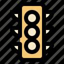 cargo, light, logistic, traffic, transportation icon