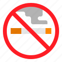 no, smoking, transportation icon