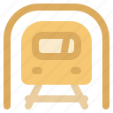 cargo, logistic, subway, transportation icon