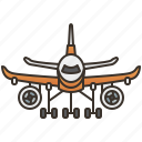airplane, aviation, flight, transportation, travel icon