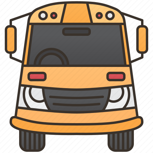 Bus, public, transport, travel, vehicle icon - Download on Iconfinder