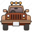 adventure, jeep, travel, vehicle, wrangler icon