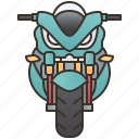 bigbike, biker, motorbike, racing, vehicle icon
