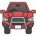 car, drive, pickup, transporter, truck icon