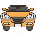 car, compact, drive, sedan, vehicle icon