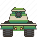 battle, cannon, military, tank, war icon