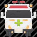 ambulance, emergency, paramedic, rescue, van