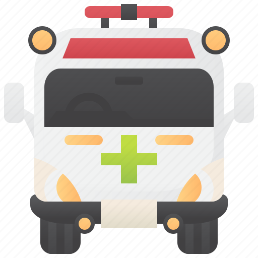 Ambulance, emergency, paramedic, rescue, van icon - Download on Iconfinder