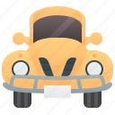 beetle, vintage, vehicle, car, classic icon