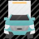 box, delivery, trailer, truck, van icon