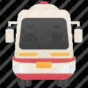 ambulance, emergency, rescue, siren, van icon