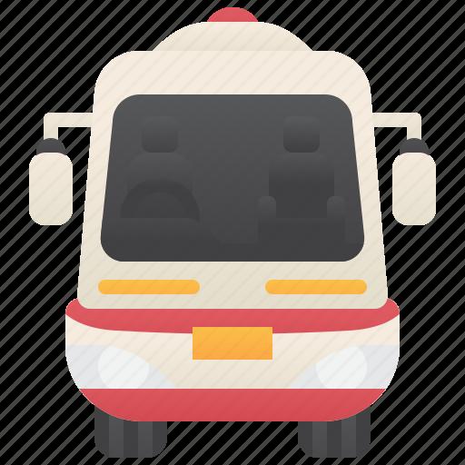 Ambulance, emergency, rescue, siren, van icon - Download on Iconfinder